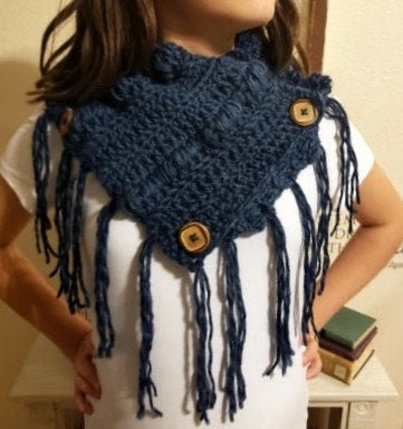 Pattern for Rustic 'Ohana Cowl image 1