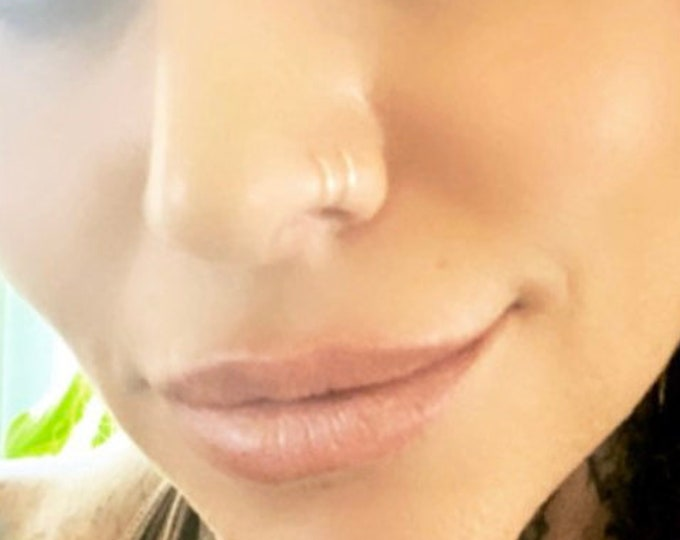 Gold Nose Rings- Other color options available too
