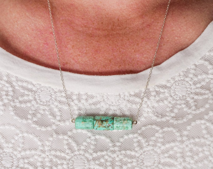 Peruvian Turquoise Necklace