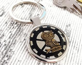 Cooper Owl Keychain KeyRing