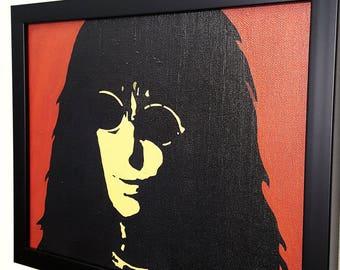 Joey Ramone The Ramones Band Framed Wall Art Canvas Artwork