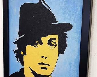 Rocky Balboa Framed Wall Art Canvas