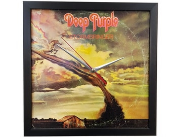 Deep Purple Wall Art Framed or Clock Album Cover