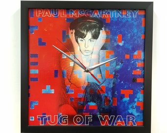 Paul McCartney Album Cover Wall Art Framed Clock