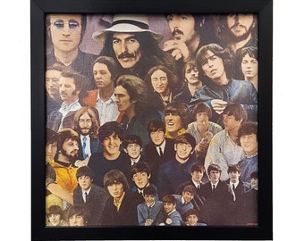 The Beatles Album Wall Art Framed or Clock