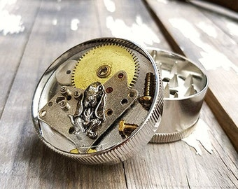 Steampunk Dog Weed Grinder -