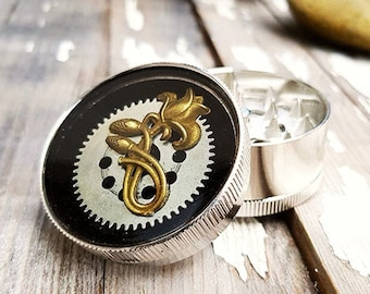 Steampunk Spice Flower Crusher