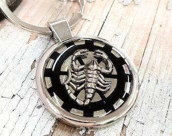 Scorpion Keyring Scorpio Keychain
