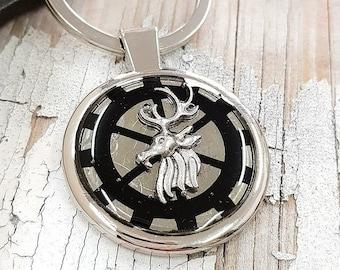Deer Keychain Hunter Keyring
