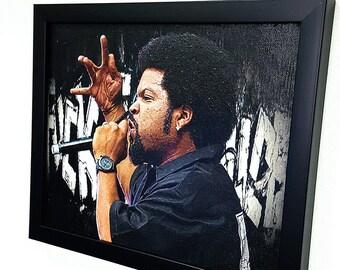 F'ck the police Ice Cube Framed Wall Art