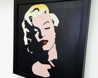 Marilyn Monroe Framed Wall Art Retro Style