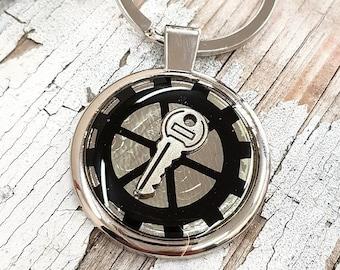 Steampunk Keyring Key Keychain