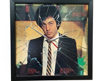 Billy Joel Wall Art Framed or Clock Album Cover Art