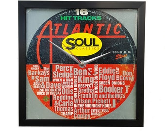 Atlantic Soul Music Wall Art Framed or Clock