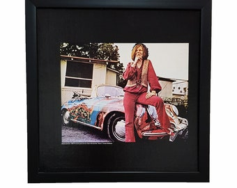 Janis Joplin Album Cover Wall Art Clock or Poster Framed
