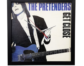 The Pretenders Wall Art Framed or Clock Album Cover Art