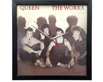 Queen Band Album Wall Art Framed or Clock