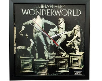 Uriah Heep Wall Art Framed or Clock Album Cover Art