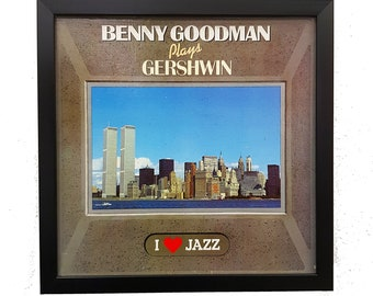 Benny Goodman Wall Art Framed or Clock