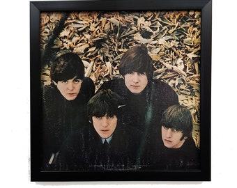 The Beatles Wall Art Clock or Framed, The Beatles Poster Vintage, Album Cover Beatles Music Vinyl Record Decor, Rock n Roll Interior
