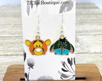 Tigger and eeyore earrings