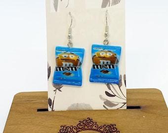 Food miniature earrings
