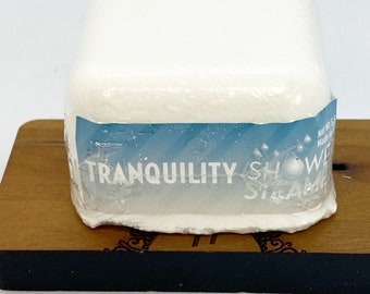 Tranquility shower steamer