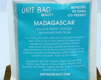 Madagascar single use bath salt treatment
