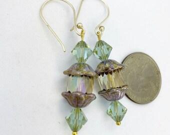 Czech glass & Swarovski crystals