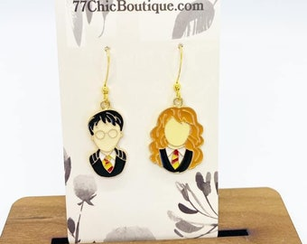 Harry potter charm earrings