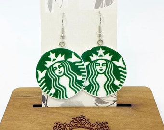 Lightweight acrylic earrings