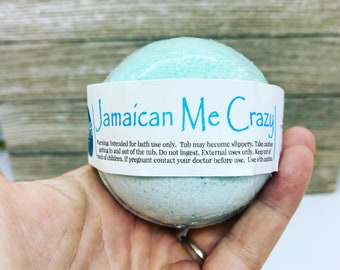 Jamaican me crazy bath bomb