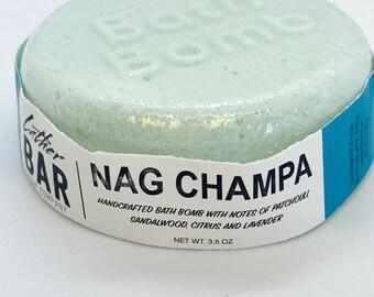 Nag Champ bath bomb