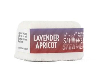 Lavender apricot shower steamer