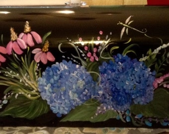 Painted Mailbox - Floral Design