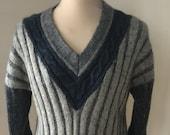 BJÖRN BORG Vintage Wool Sweater Design Rhodi Heintz Pullover Unisex