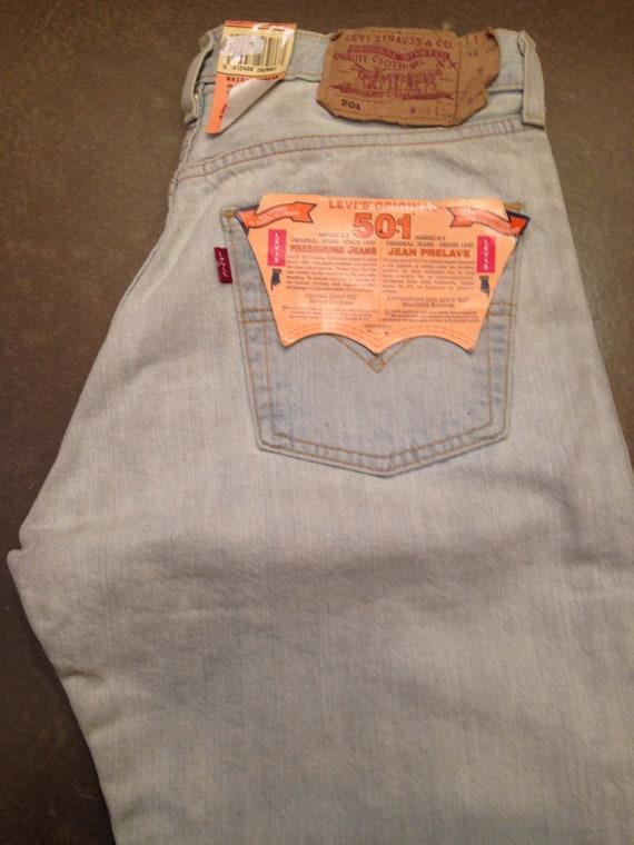 Levi's  501 Vintage Deadstock Jeans Unisex