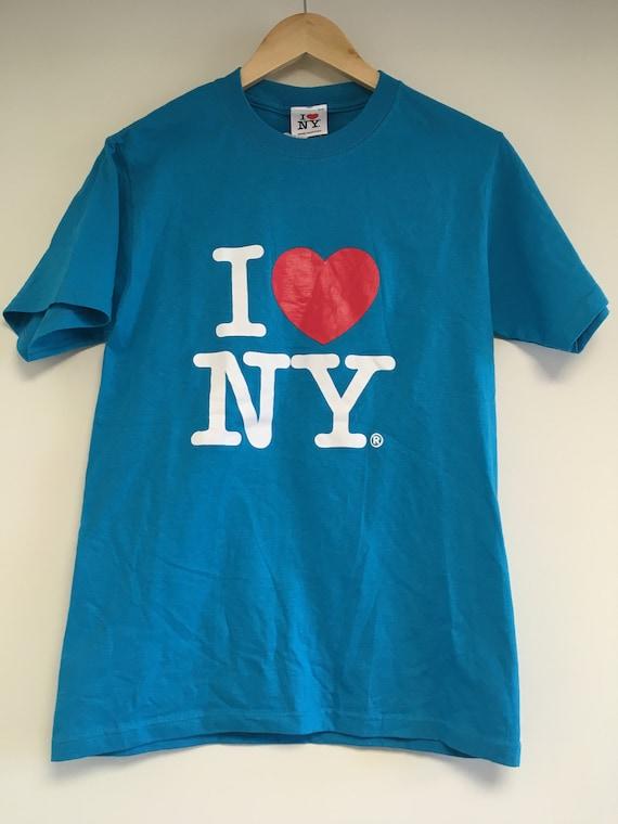 I Love NY NEW YORK Vintage T Shirt Deadstock 1990s