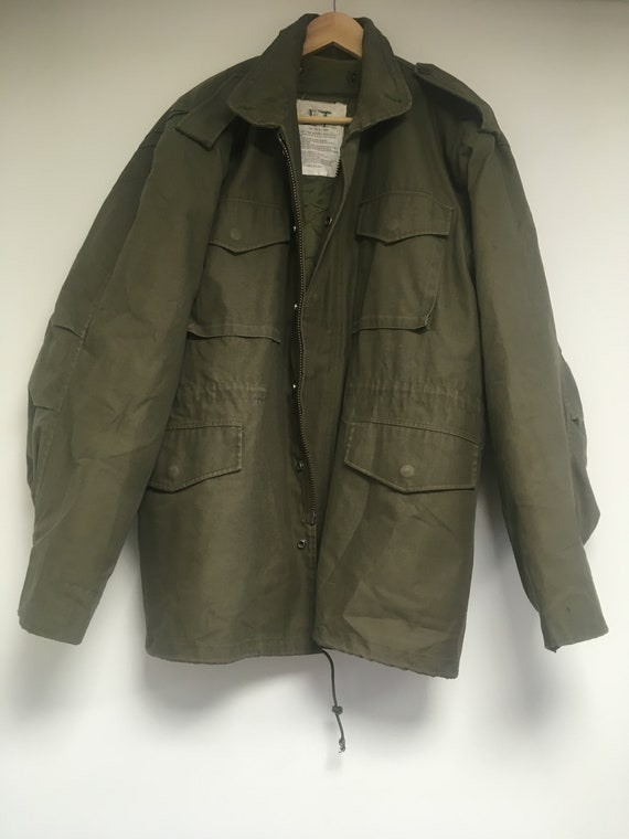 M65 USA Military Vintage Jacket Cold Field Coat Wi