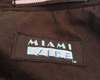 MIAMI VICE Vintage Blazer Original 1990s