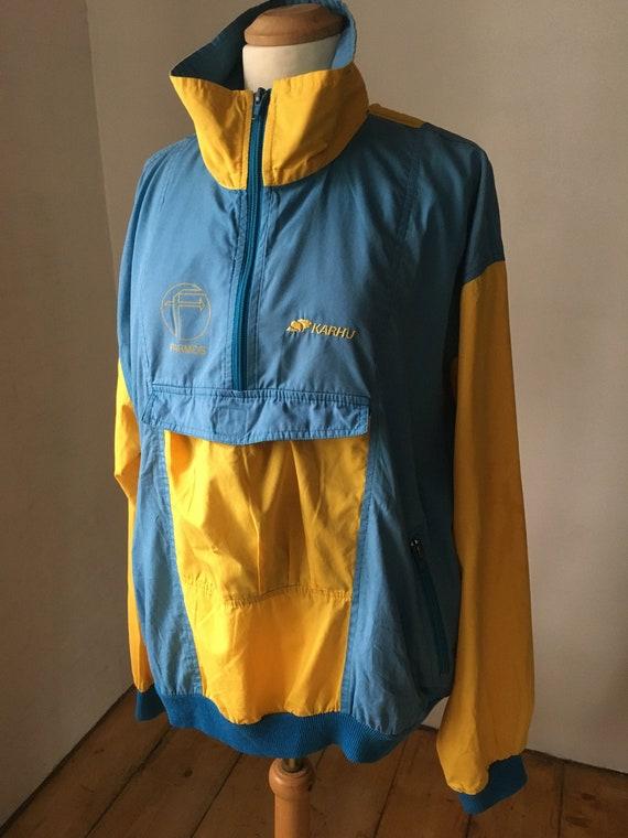 KARHU Finland Vintage Windbreaker Jacket Unisex Fr