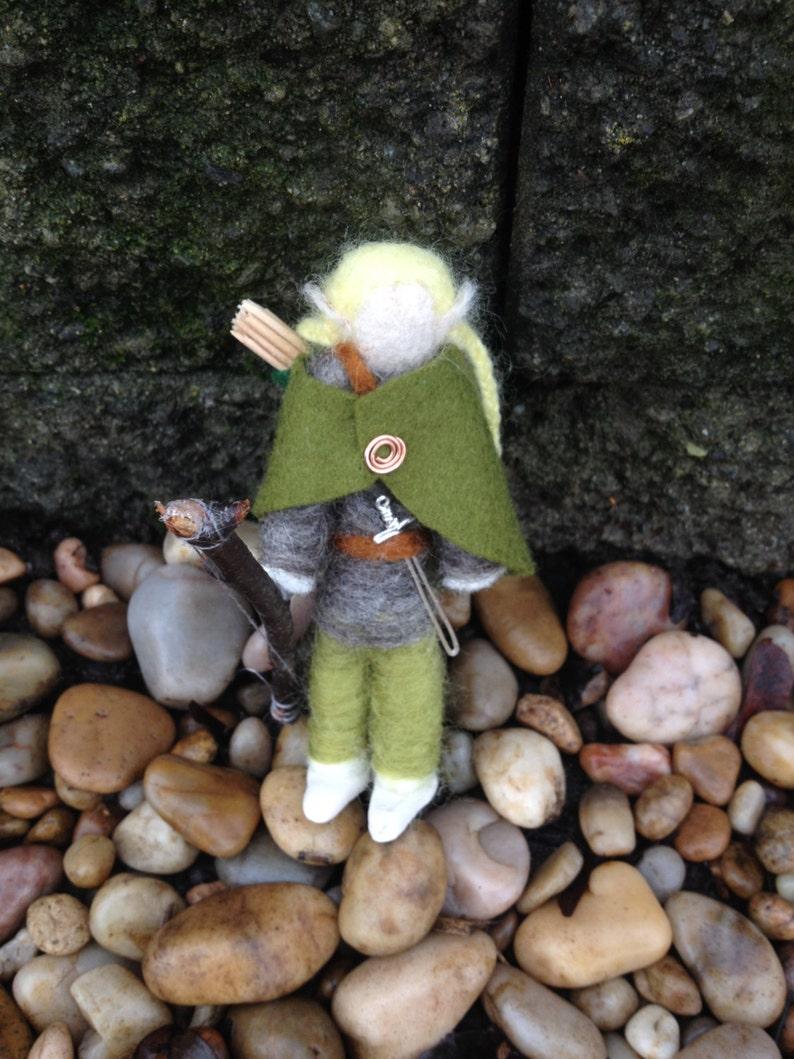 Legolas Felt Figure Lord of the Rings Felt Doll Needle | Etsy