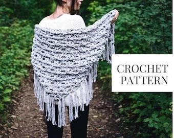 CROCHET PATTERN: Spruce Grove Wrap