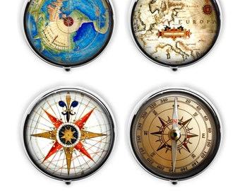 Dutch Explorer/'s Compass  Travel Pouch
