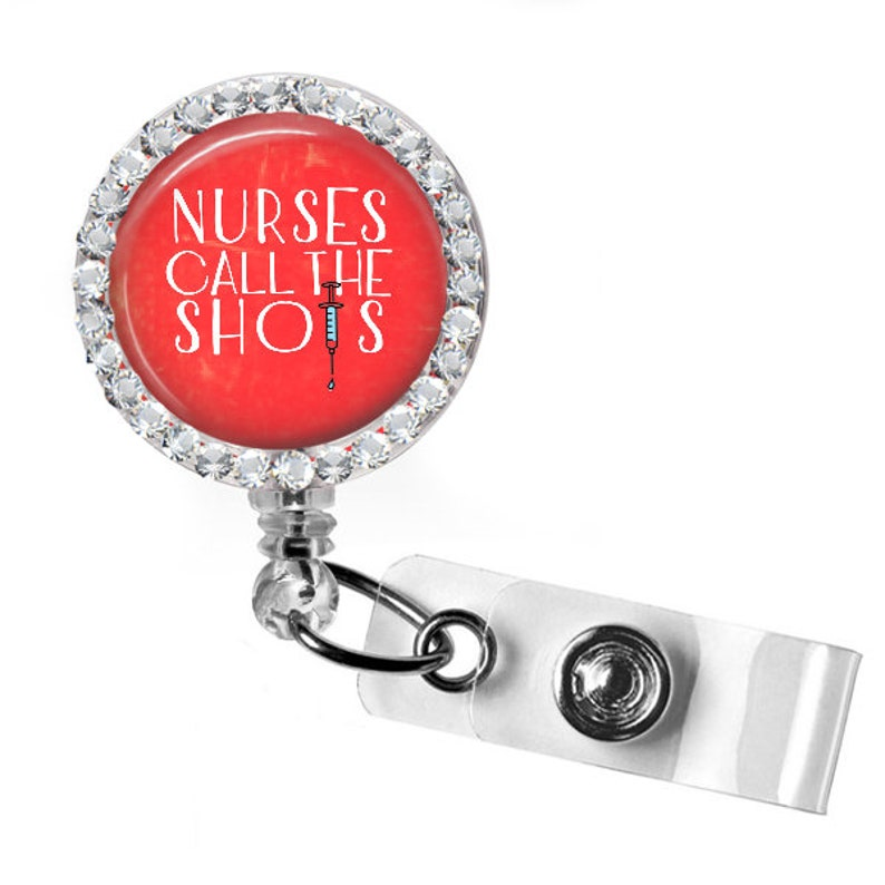 retractable swivel badge nurse gift floral RN badge nurse name badge ID custom rhinestone badge Personalized doctor badge reel