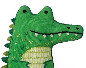 Alligator - Embroidery Kit