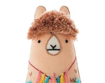 Llama - Embroidery Kit