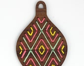 Geometric - Stitched Ornament Kit