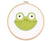 Froggie - Hoop Art Kit