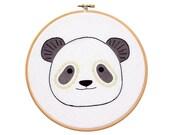 Panda - Hoop Art Kit